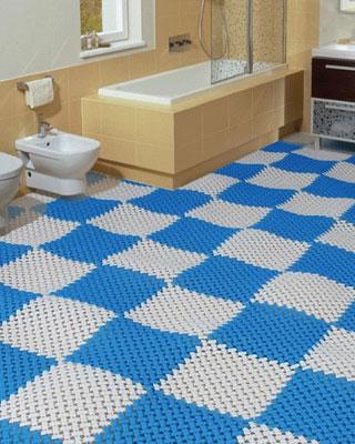 Hướng dẫn cách lựa chọn thảm trải sàn nhà tắm