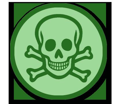 Dung dịch tẩy rửa độc hại, không an toàn